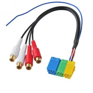 ISO разъем Mini RCA INTRO ISO-003