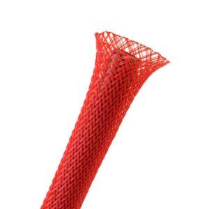 Оплетка (змеиная кожа) красная